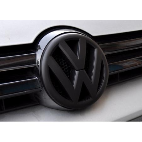 Logo de calandre VW Noir mat pour Volkswagen  Golf 6