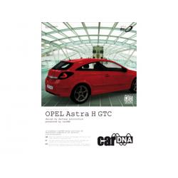 carDNA OPEL Astra H GTC Einleger für Präsentationsmappe A4