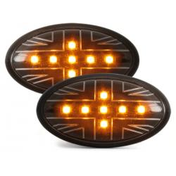Clignotants LED Mini Cooper/S/JCW/R50/R53 02-06 _Noir