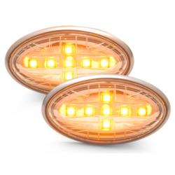 Clignotants LED Mini Cooper/S/JCW/R50/R53 02-06 _chromé