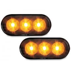 Clignotants LED Vw Seat Skoda Ford - Noir