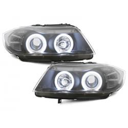 EDITIONPhares BMW E90/E91 3er-2 CCFL SLR-Noir