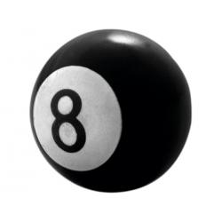 Bouchons de valves Eight ball (4 pièces)