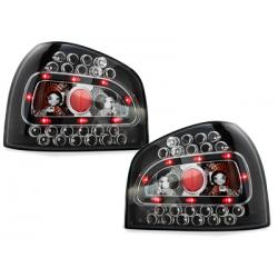 Feux arrière LED Audi A3 8L 09.96-04 - Noir