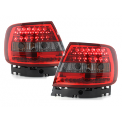 Feux arrière LED Audi A4 B5 Lim. 95-10.00_Rouge/Fumé