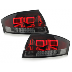 Feux arrière LED Audi TT (8N3/8N9) 98-05-Rouge/Fumé