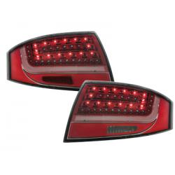 Feux arrière LITEC LED Audi TT (8N3/8N9) 98-05-Rouge/Cristal