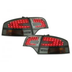 Feux arrière LED Audi A4 B7 Lim. 04-08-Fumé