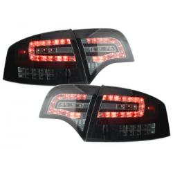Feux arrière LED Audi A4 B7 Lim.04-08_clignotant LED_blk/Fumé