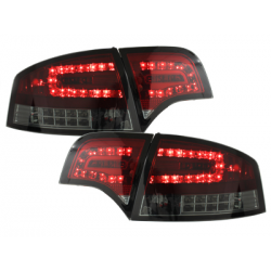 Feux LED Audi A4 B7 Lim.04-08 Clignotants LED rouge / fumé