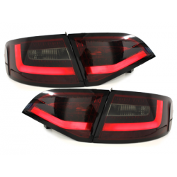 Feux arrière LITEC LED Audi A4 B8 (8K) Avant-Rouge/Fumé