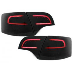 Feux arrière LITEC LED Audi A4 Avant B7 04-08_Noir/Fumé