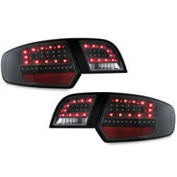 Feux arrière LITEC LED Audi A3 Sportback 03-08-Noir