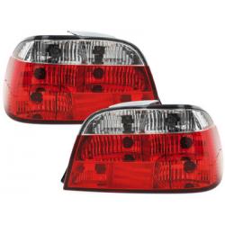Feux arrière BMW E38 95-02-Rouge/Cristal