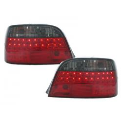 Feux arrière LED BMW E38 95-02-Rouge/Fumé