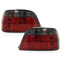 Feux arrière BMW E38 95-02-Rouge/Fumé