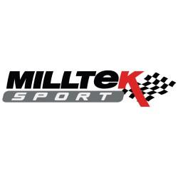 Descente de Turbo avec Cata Sport Hi-Flow - Montage obligatoire avec ligne Milltek