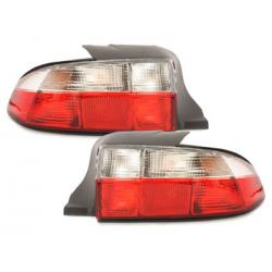 Feux arrière BMW Z3 96-99-Rouge/Cristal
