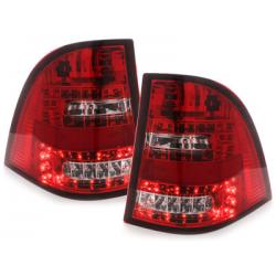 Feux arrière LED Mercedes Benz W163 M-Klasse-Rouge/Cristal