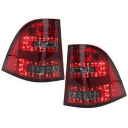 Feux arrière LED Mercedes Benz W163 M-Klasse-Rouge/Fumé