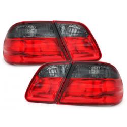 Feux arrière Mercedes Benz W210 E-Kl. 95-02-Rouge/Fumé