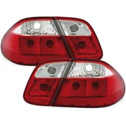 Feux arrière Mercedes B. CLK W208 06.97-02-Rouge/Cristal