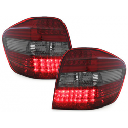 Feux arrière LED Mercedes Benz M-Kl. 05+ W164-Fumé/Rouge