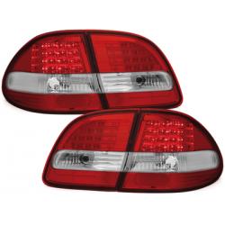 **Feux arrière LED Mercedes Benz E W211 T Modell_Rouge/Cristal