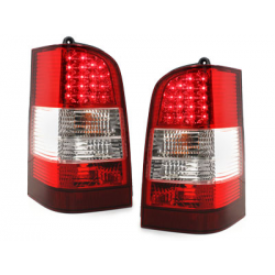 Feux arrière LED Mercedes Benz W638 Vito 96-03_Rouge/Cristal