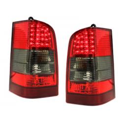 Feux arrière LED Mercedes Benz W638 Vito 96-03_Rouge/Fumé