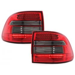 Feux arrière LED Porsche Cayenne 03-07_Rouge/Fumé