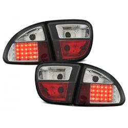 Feux arrière LED Seat Leon 99-05-Noir
