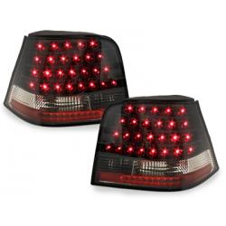Feux arrière LED Vw Golf 4 97-04-Noir