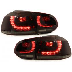 Feux Golf 6 LED rouge fumé CAN-BUS Gti R-line