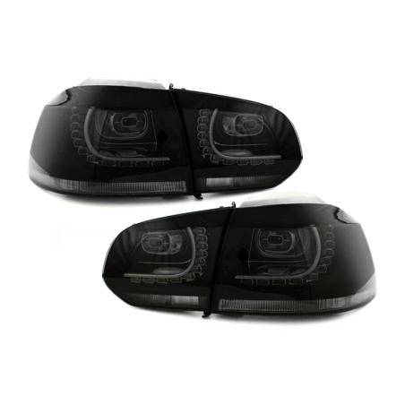 Feux LED noir CAN-BUS Golf 6 Gti R-line - RV39ADLS