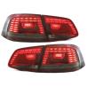 Feux arrière LED Vw Passat 3C GP Limousine 2011+-Rouge/Fumé