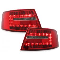 Feux arrière LED Audi A6 4F Limousine 04-08-Rouge/clair