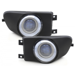 Anti-brouillards BMW E39 96-00-Angel Eyes-Noir