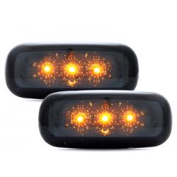 Clignotants LED Audi A3 01-04/ A4 99+/A6 98-01 - Fumé