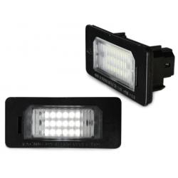 LED plaque d'immatriculation BMW E39, E60, E70, E90, uva.