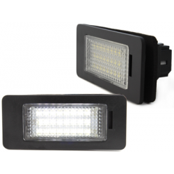 LED plaque d'immatriculation BMW E82, E88, E70, E90, E91, E92, E93