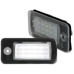 LITEC LED plaque d'immatriculation Audi A3 8P, A4 B6, A4 , A6, A8, uva.