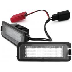 LED plaque d'immatriculation Vw Golf 5 VI, VII Polo Scirocco - Skoda