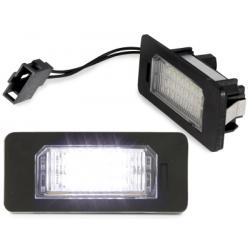 LED plaque d'immatriculation AUDI A1/Q5/A4/A5/A6/A7/Vw/Skoda