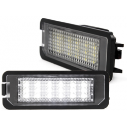 Eclairages LED plaque d'immatriculation (x2)