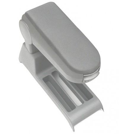 Central armrest in grey Cloth
