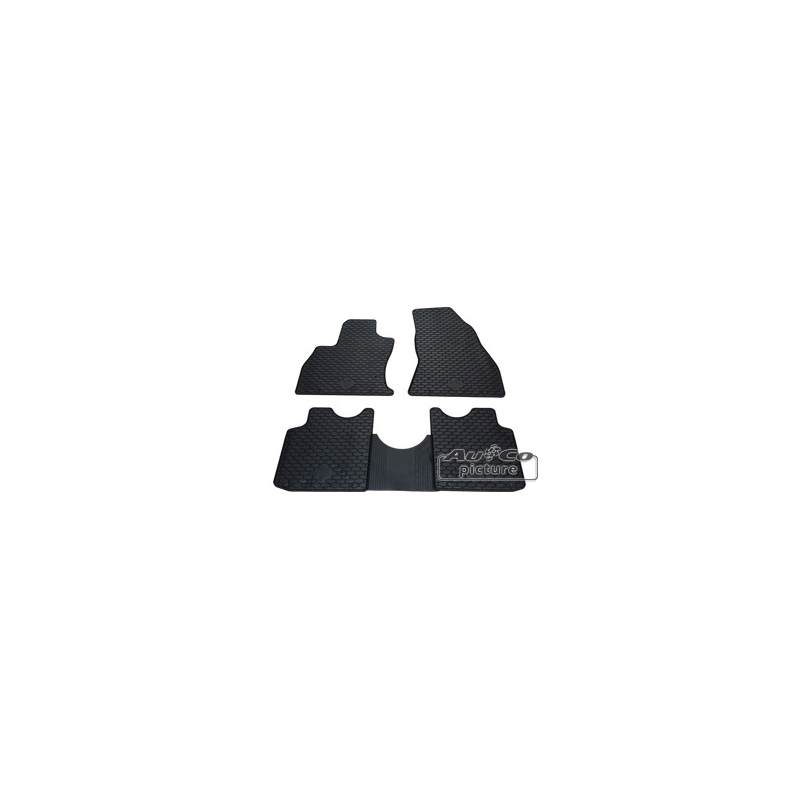 tapis de sol en caoutchouc fiat 500l. Black Bedroom Furniture Sets. Home Design Ideas
