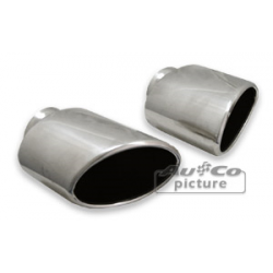 Tail Pipes Stainless Steel Porsche 911 (993 C2/C4)