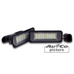 LED licence plate lights VW Lupo
