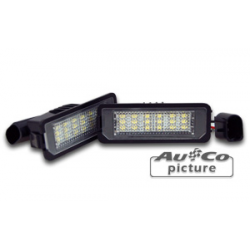 LED licence plate lights VW Polo (6N2) & Polo (9N)